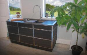 naturekast galley workstation suite cabinet